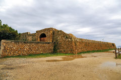 Forti de Santa Ana in Tarragona, Spain, Royalty Free Stock Image