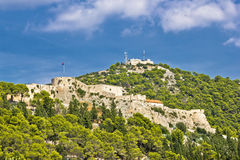 Fortica fortress in town of Hvar Stock Photos