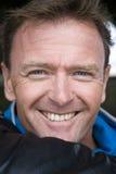 forties happy man Στοκ εικόνα με δικαίωμα ελεύθερης χρήσης