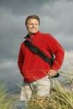 forties happy man Στοκ φωτογραφία με δικαίωμα ελεύθερης χρήσης