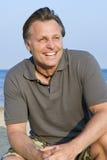 forties szczęśliwy mężczyzna Zdjęcie Stock