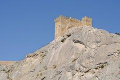 城堡领事热那亚人fortifiaction的堡垒 免版税图库摄影