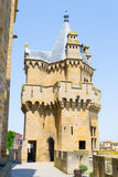 Fortifiaction of the castle of Olite Stock Photo