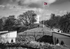 A fortificação de Fredericia fotografia de stock