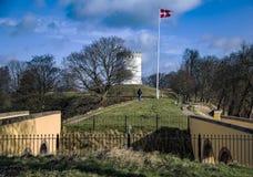 A fortificação de Fredericia imagem de stock