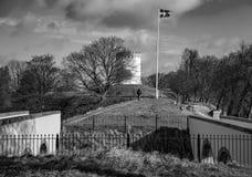 A fortificação de Fredericia imagens de stock royalty free