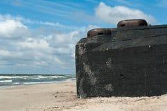 Fortificação de Nazi Germany foto de stock