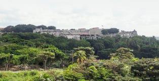 Fortificação em Cuba Foto de Stock Royalty Free