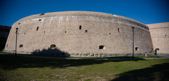 Fortificação velha de Vilnius Fotos de Stock Royalty Free
