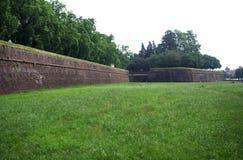 Fortificações de Lucca Imagens de Stock Royalty Free