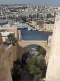 Fortificações de Valletta Imagem de Stock Royalty Free