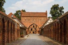 Fortificações medievais em Neubrandenburg Fotos de Stock Royalty Free