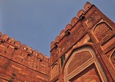Fortification à l'entrée de fort Image stock