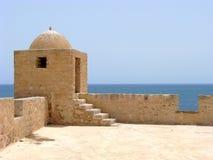 Fortification árabe em Mahdia fotografia de stock