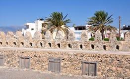 Fortification of Agios Nikolaos. Greece, Crete Royalty Free Stock Photography