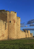 Fortification of aigues mortes Stock Photos