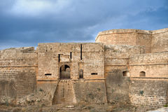 Fortification of ancient city. Fortification of ancient Famagusta, Cyprus Royalty Free Stock Photography
