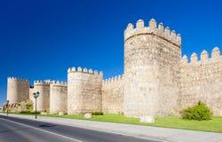 Fortification of Avila Stock Image