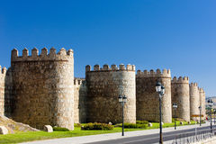 Fortification of Avila Royalty Free Stock Photos