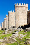 Fortification of Avila Royalty Free Stock Images