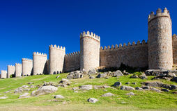 Fortification of Avila Royalty Free Stock Photography