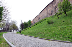 Fortification in Bratislava, Slovakia, Europe Royalty Free Stock Images