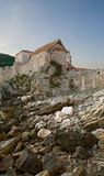 Fortification in Budva, Montenegro. Royalty Free Stock Photos