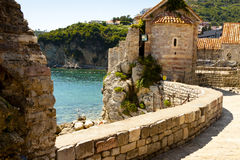Fortification in Budva - Montenegro Stock Photography