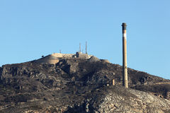 Fortification in Cartagena, Spain Stock Image