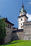 Fortification of the Castle of Kremnica Stock Photography