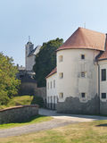 Fortification of Cerveny Kamen Castle, Slovakia Royalty Free Stock Image