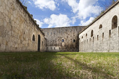 Fortification court stock photo
