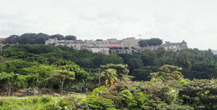 Fortification in Cuba Royalty Free Stock Photo