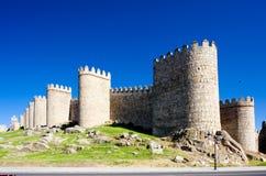 fortification d'avila Photos stock