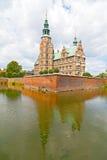 Fortification de château de Rosenborg à Copenhague, Danemark photos libres de droits