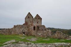 Fortification de medievel de Hammershus photos stock