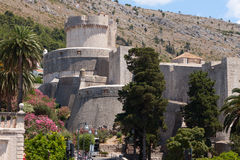 Fortification of Dubrovnik Stock Photos