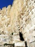 Fortification en pierre antique Images libres de droits