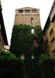 Fortification en pierre de Florence de tour, Toscane, Itali Images libres de droits