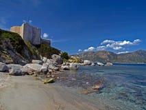 Fortification Fortezza Vecchia, Sardinia, Italy Stock Image