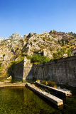 Fortification. Kotor Stock Photography