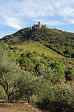 Fortification in Languedoc Roussillon Royalty Free Stock Image