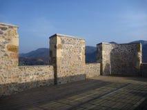 Fortification of medieval castle in Celje Stock Image