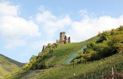 Fortification Metternich. Beilstein, Rhineland-Palatinate, Germany. Royalty Free Stock Photo