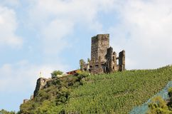 Fortification Metternich. Beilstein, Rhineland-Palatinate, Germany. Royalty Free Stock Image