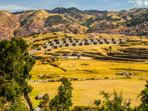 Fortification Of Sacsayhuaman Stock Photography