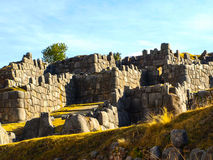 Fortification Of Sacsayhuaman Royalty Free Stock Photo