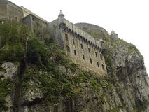 Fortification of Portalet Stock Photos