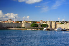 Тне fortification.Rhodes. Stock Images
