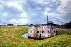 Fortification ruins in Muiden Royalty Free Stock Images
